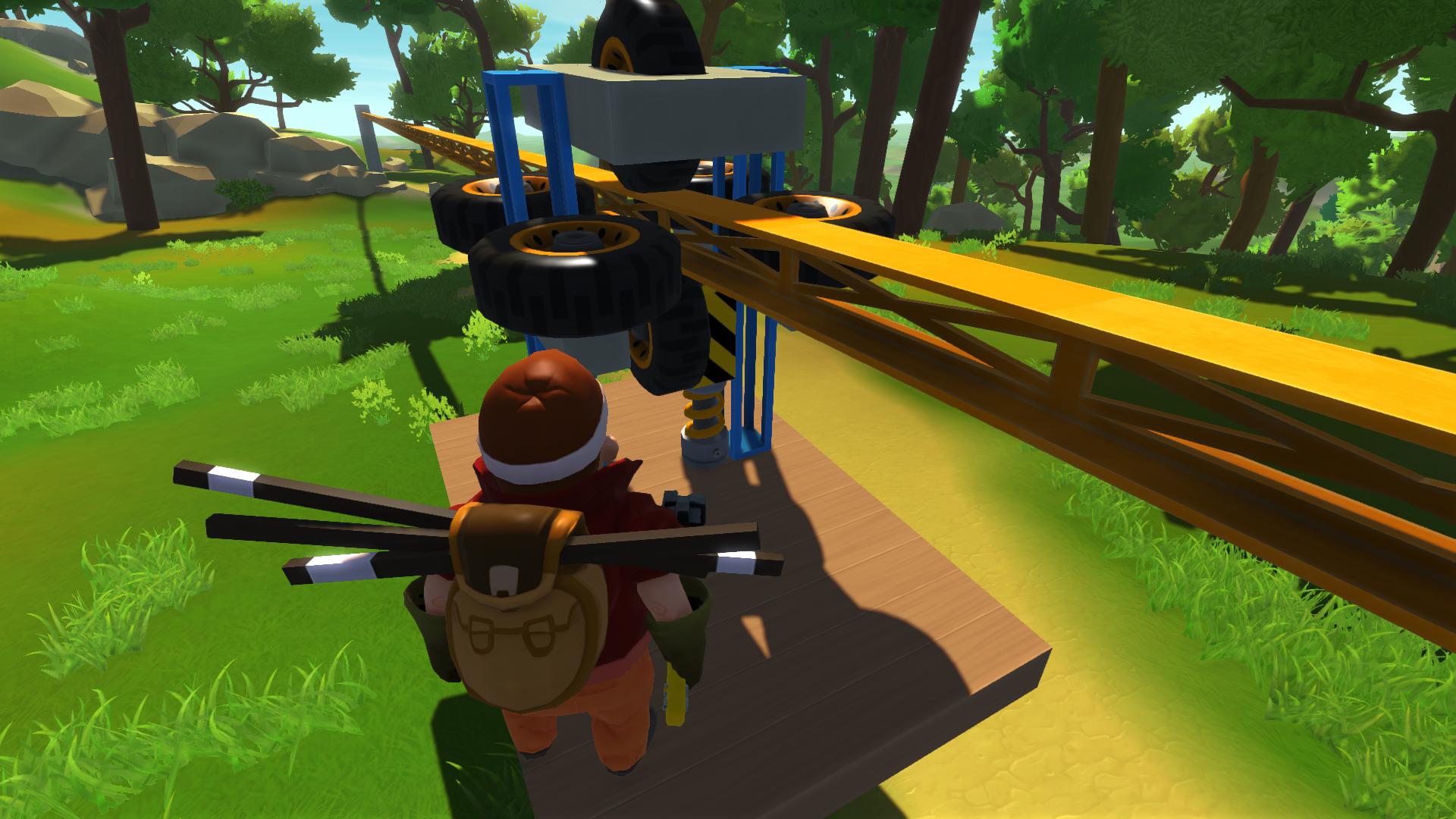 Смотреть видео про игру скрап механик
