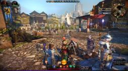 Neverwinter Online скриншот с замком