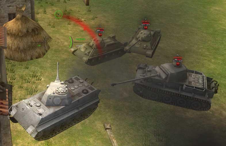 скачать игру Ground War Tanks через торрент - фото 9