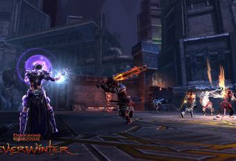 Скриншот проекта Neverwinter Online с магом