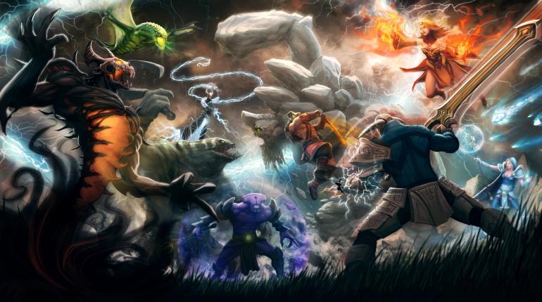 Арт-изображение игры Dota 2