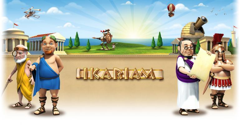 Логотип проекта Ikariam