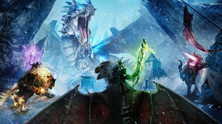 Riders of Icarus изображение со сражением