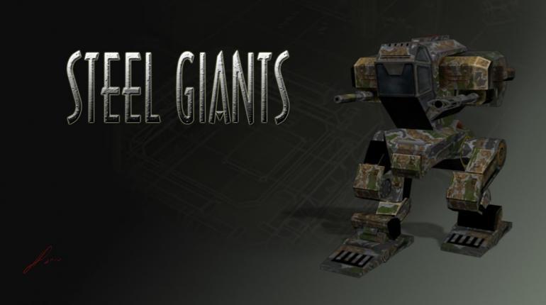 Логотип-арт из игры Steel Giants