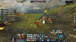 Скриншот игры Aion сражение