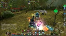 Сражение с монстрами в Aion