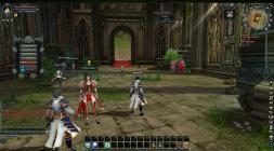 Игровой скриншот Blood & Soul с несколькими персонажами
