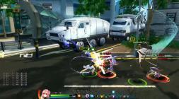 Скриншот из игры Closers с боевкой
