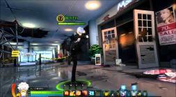 Скриншот из игры Closers с городом