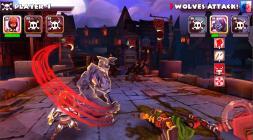 Скриншот с боевкой из мобильной версии Might and Mayhem