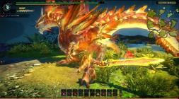 Сражение с драконом в Monster Hunter Online