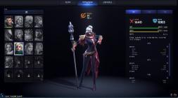Окно создания персонажа в Project TL с выбором