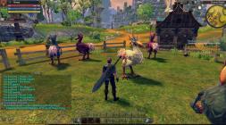 Скриншот из игры RaiderZ на светлом фоне