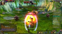 Runes of Magic скриншот с магическим щитом
