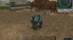 Изображение робота из игры Steel Giants в поле