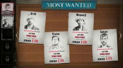 Доска с наградами за головы в игре Wild West Online