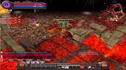 Скриншот адской локации из проекта With Your Destiny