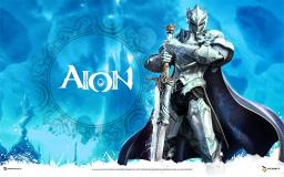 Aion - Рыцарь с мечем Арт-лого