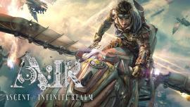 Арт изображение из игры A:IR с летающим грифоном
